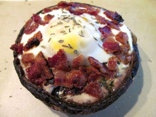 portobello-bacon-egg